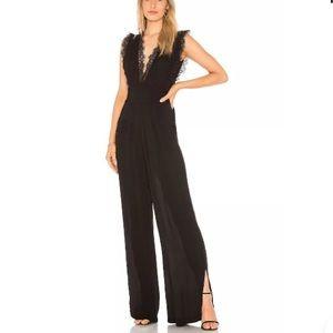 NEW NWT Free People Cem Jumpsuit Black Lace 0 XS